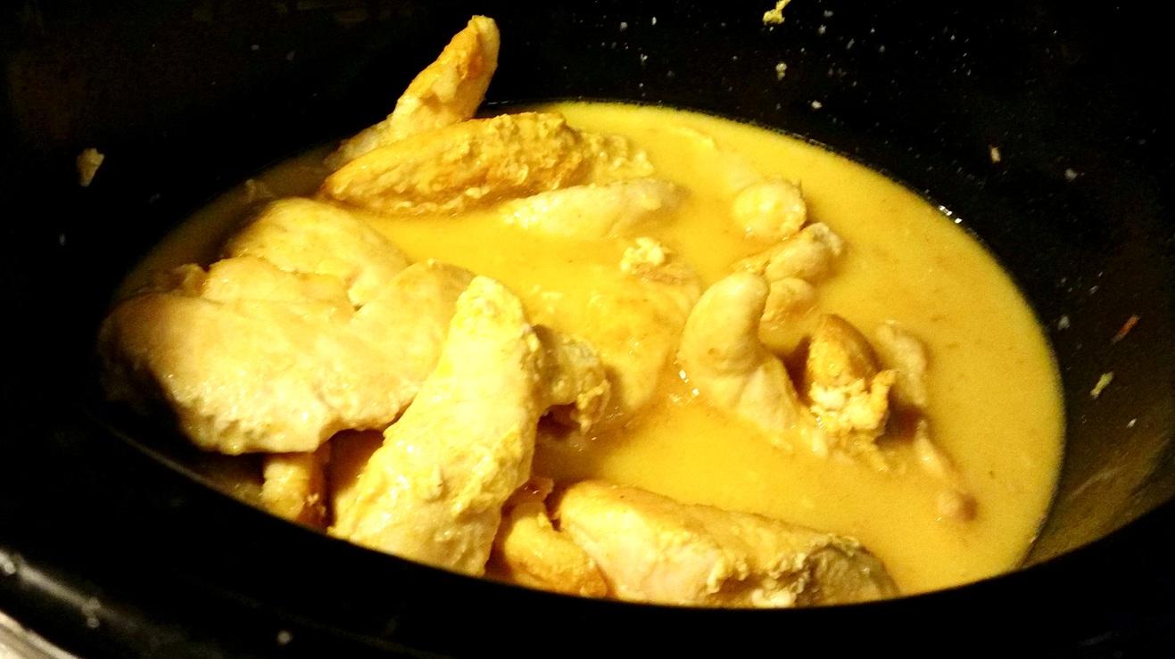 soppa kokosmjölk röd curry